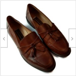 Johnston & Murphy brown leather loafers size 11